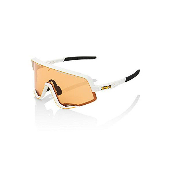 100 Percent Glendale-Soft TACT Off White Includes Smoke Lens Instead of Standard Spare Gafas, Hombres, Blanco-Cristal Persimm
