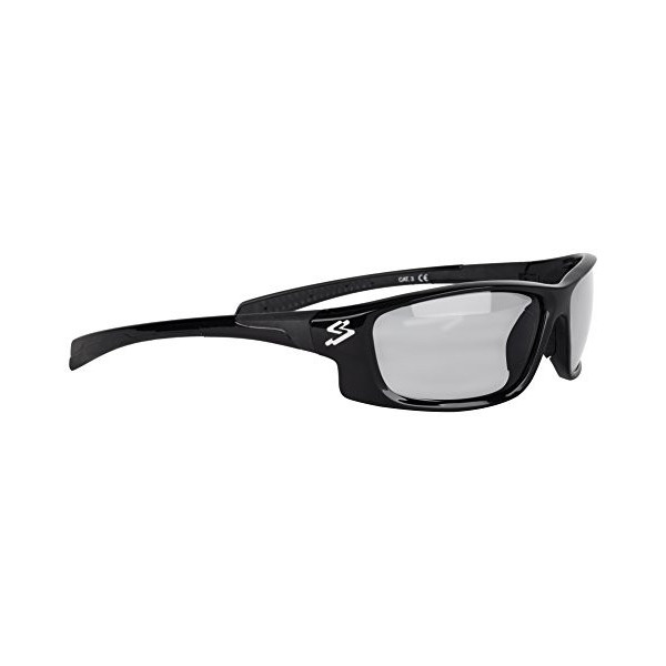 Spiuk Spicy - Gafas Unisex, Color Negro Mate/Negro