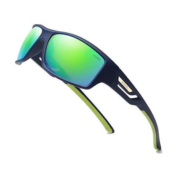 Skevic Gafas de Sol Hombre Mujer Polarizadas TR90 - Gafas Running, Gafas Ciclismo Hombre Ideales para Deporte, Pesca, MTB, Es
