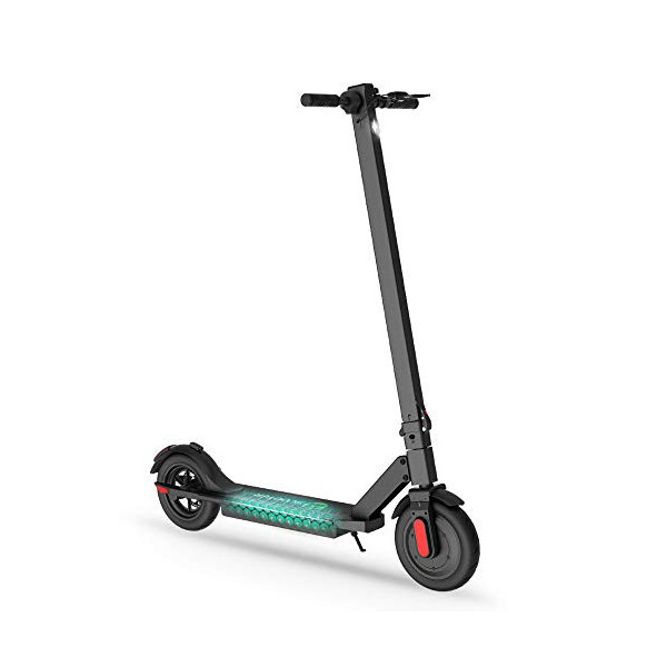 Mtricscoto Patinete electrico, patín hasta 25 Km/h, sin escobillas de 250W alcanza, un Regalo para Adultos y Adolescentes.