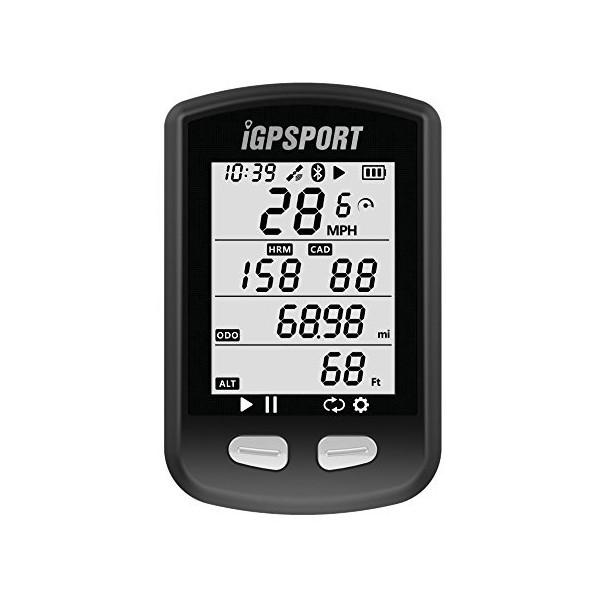 iGPSPORT Ciclocomputadores GPS Ant+ Función iGS10 Ordenador inalámbrico Bicicleta Ciclismo Cuentakilometros Bici