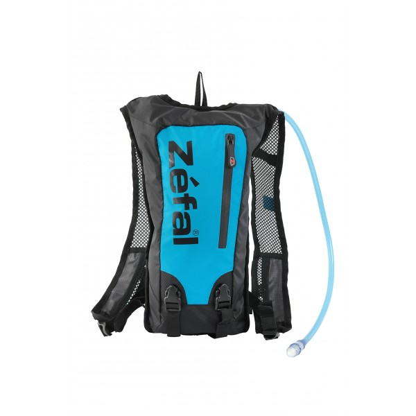Zéfal 7063A–Bolsa de hidratación bicicleta Unisex, color azul/negro, talla S