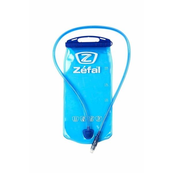 Zefal Hydration - Pack y bolsa de hidratación para ciclismo, color azul, talla Large