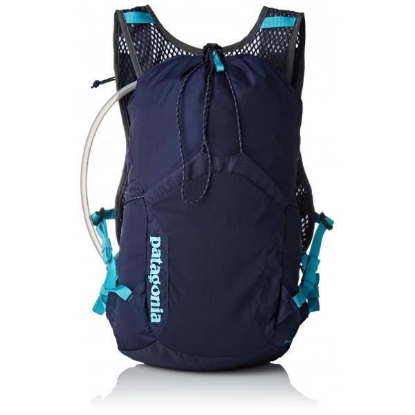 Patagonia Fore Runner Vest 10, Mochila Unisex Adultos, Azul  Navy Blue W/Strait Blue , 36x24x45 cm  W x H x L  S/M