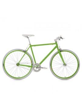 KS Cycling Bike Flip Flop RH 59cm, verde y blanco, 28, 152r