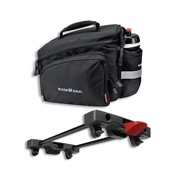 KlickFix Bolsa para bicicletas Rackpack 2 para Racktime Negro 2015