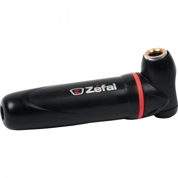 Zefal Inflador Regulador para Cartuchos Roscados y Sin Rosca