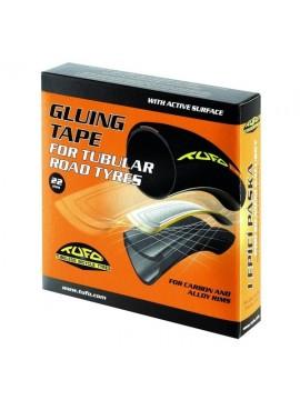 Tufo 022 Cinta Adhesiva para Tubulares de Carretera, Unisex Adulto, Negro, 700 x 22 mm