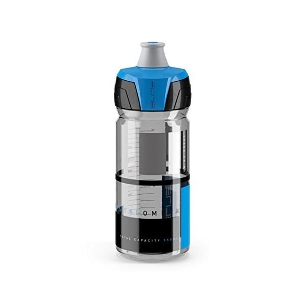 Elite Crystal Ombra Bidón, Ahumado, Azul, 550 ml