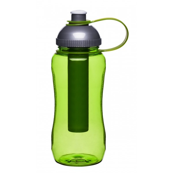 Sagaform botella de agua de hielo de pistón, verde