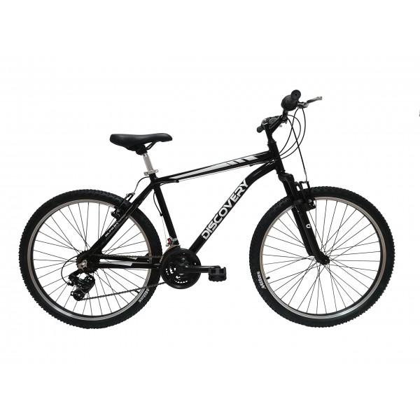 """Discovery DP073 - Bicicleta Montaña Mountainbike 26"""" B.T.T. cuadro de aluminio, cambio Shimano TX30, 21 velocidades, con amor"""