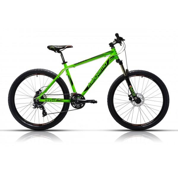 """Megamo MT2 Bicicleta de Montaña, Hombre, Verde, 13.5"""""""