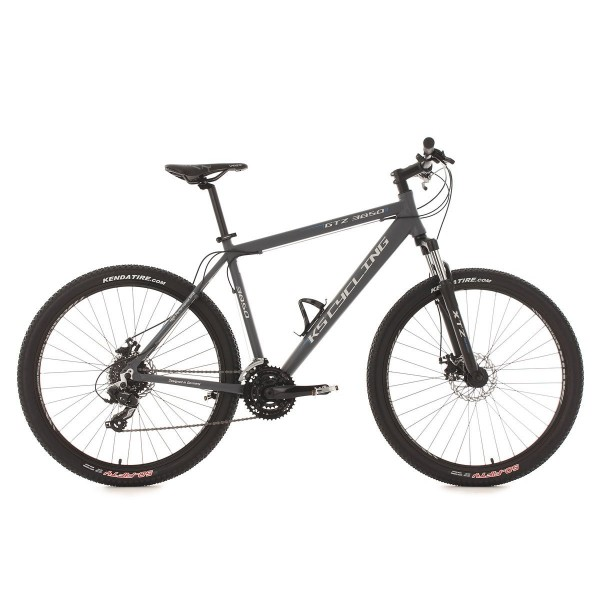 "KS Cycling MTB Hardtail GTZ 3850 - Bicicleta de montaña, color antracita, ruedas 27,5"", cuadro 51 cm"