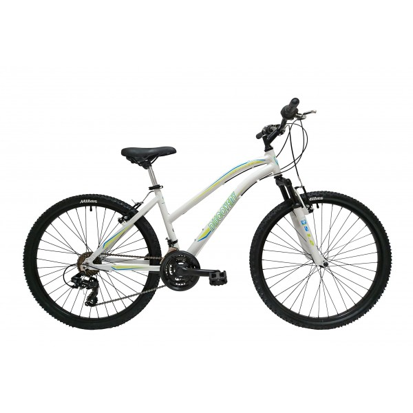 """Discovery DP074 - Bicicleta Montaña Mountainbike 26"""" B.T.T. Cuadro de Aluminio. Cambio Shimano TX30, 18 Velocidades, con amor"""