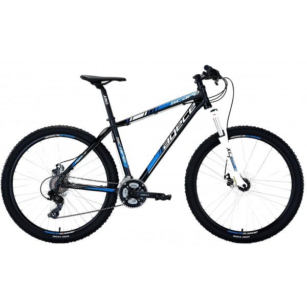 "Agece Scape 27.5 Suntour XCT Bicicleta, Hombre, Negro/Azul, 19"""