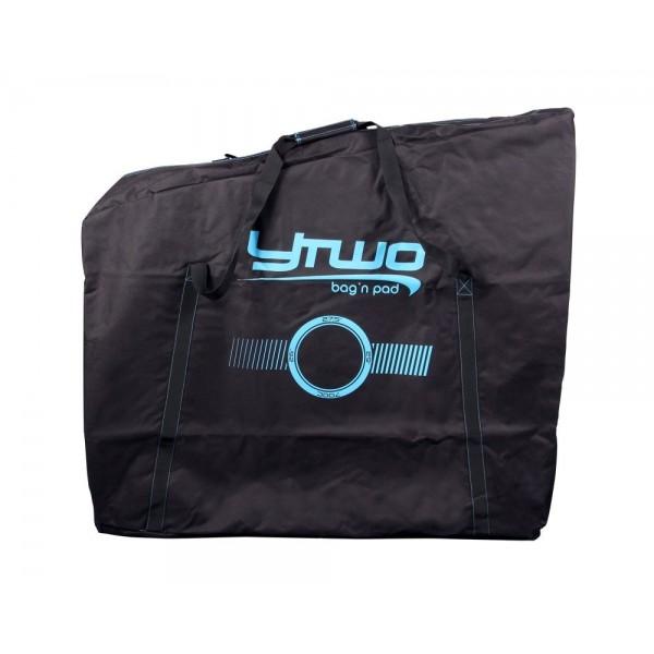 Y-Two YTWO ythosof funda de transporte para adulto, Negro/Azul