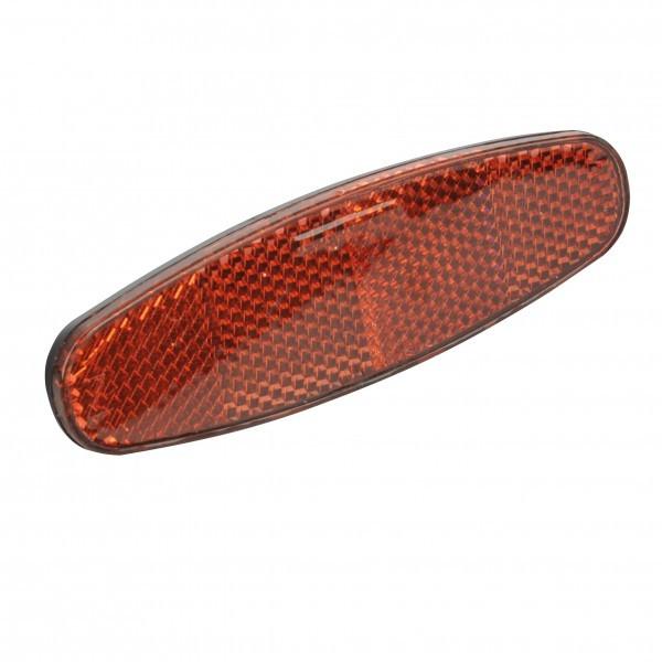 Fischer adultos reflector trasero portaequipajes Fijación, Rojo, One size