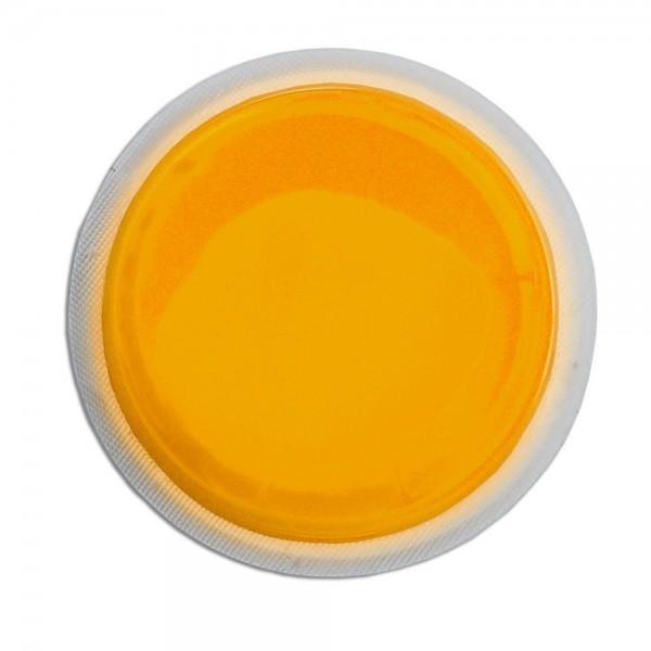 Cyalume LightShape - Caja de 10 marcadores circulares luminosos, 4 horas, color naranja