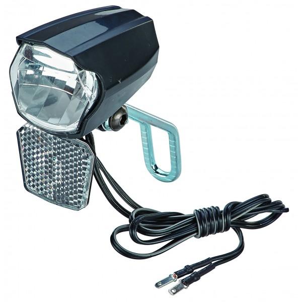 Prophete 30Lux, con un de encendido/apagado, con luz de posición y sensor automático, soporte para reflector y Nirosta extra