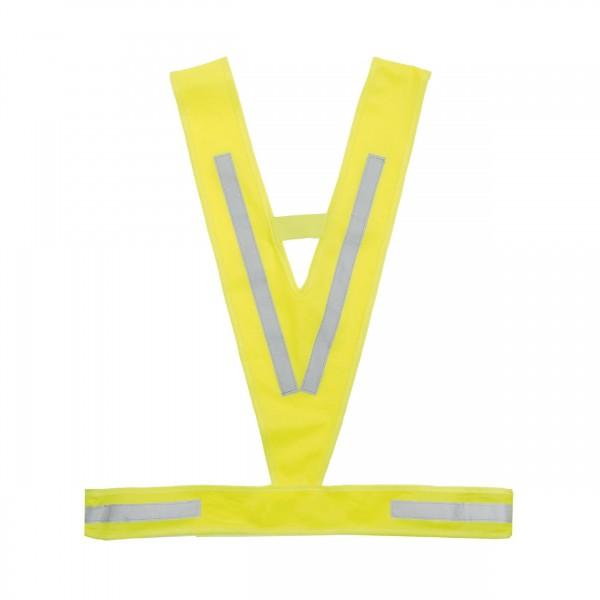 M-Wave Chaleco reflectante de triángulo, color amarillo