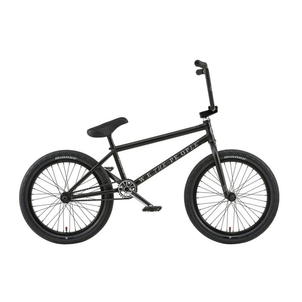 "Wethepeople Envy 20 2018 BMX Freestyle  21"" - Negro Mate"