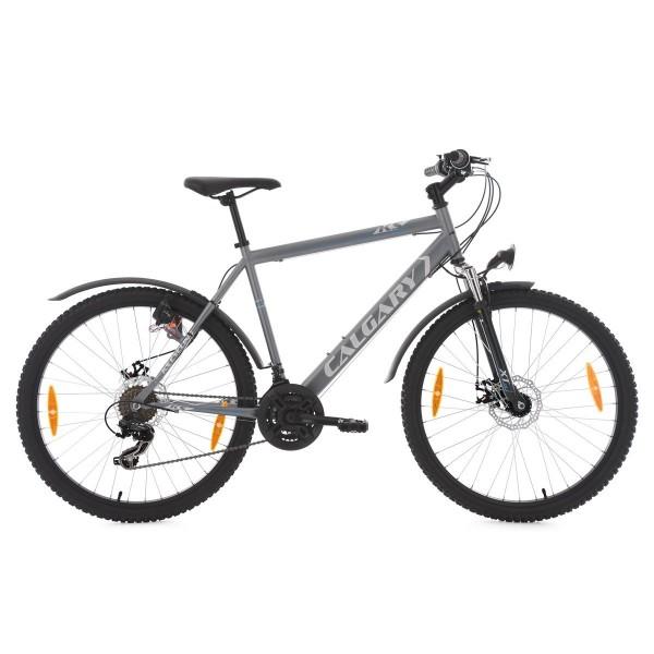 KS Cycling uni Mountainbike Hardtail atb Calgary Anthracite RH 51cm bicicleta, antracita, 26