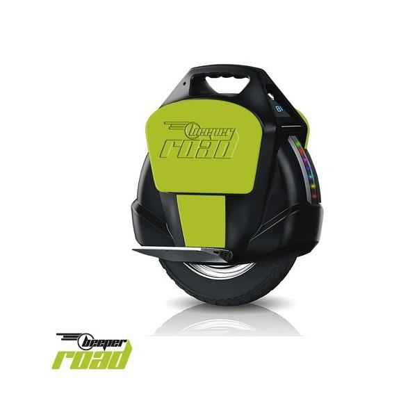 Beeper R1-NV - Monociclo electrónico, color negro/verde