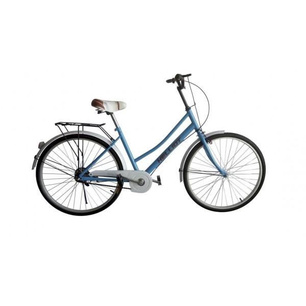 Helliot Bikes Paseo03 Bicicleta de Ciudad, Unisex Adulto, Azul, Estándar
