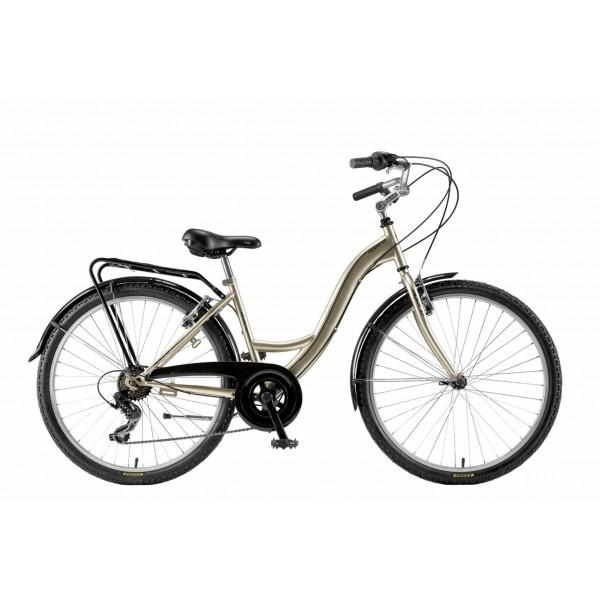 "Agece City CTB Grace Bicicleta, Unisex Adulto, Champagne, 17"""