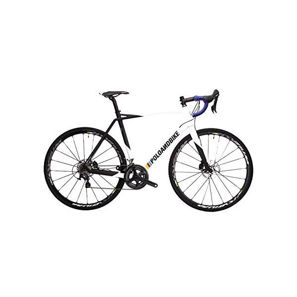 POLOANDBIKE Savage Complete Bike Ultegra - Bicicleta de carretera de 22 velocidades, cuadro de carbono talla 56, horquilla de