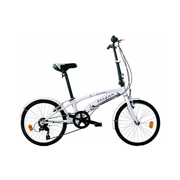 "Frejus P2X20206 - Bicicleta 20"" Plegable unisex, color blanco"
