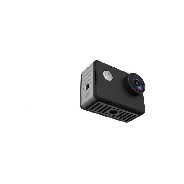 "NK-CA3143-TA - Cámara deportiva 4K con pantalla táctil HD de 2"", lente de 170 grados, resistente al agua 10m sin carcasa, col"