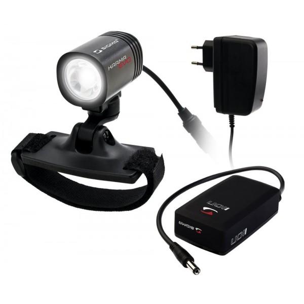 Sigma Sport Karma Evo Pro X - Linterna LED deportiva para casco