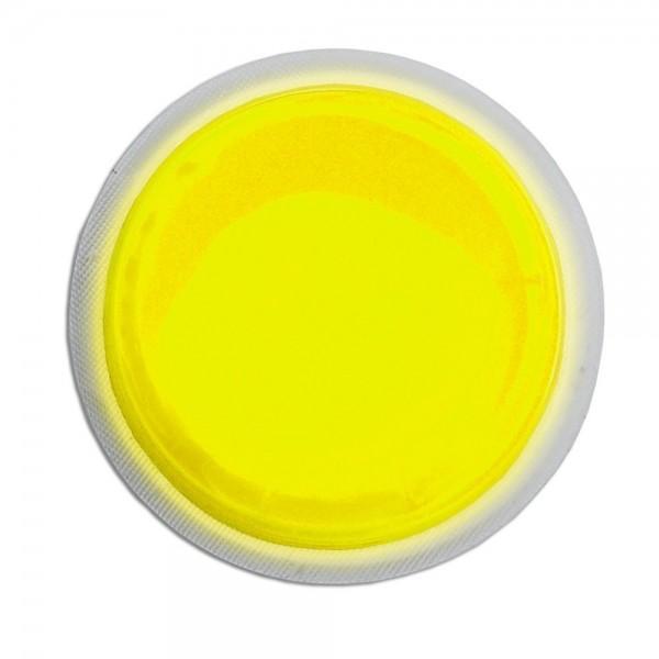 Cyalume LightShape - Paquete de 100 marcadores circulares luminosos, 4 horas, color amarillo
