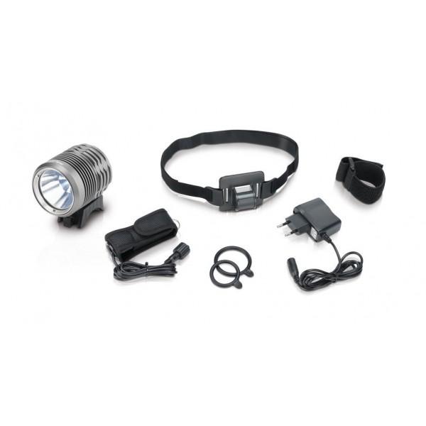 Xlc 2500230100–Linterna de casco, color blanco, 10x 5x 3cm