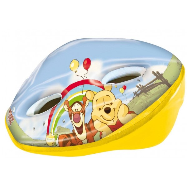 Pro Type Disney 802009 - Casco infantil para bicicleta  52-56 cm , diseño de Winnie the Pooh, color amarillo y naranja