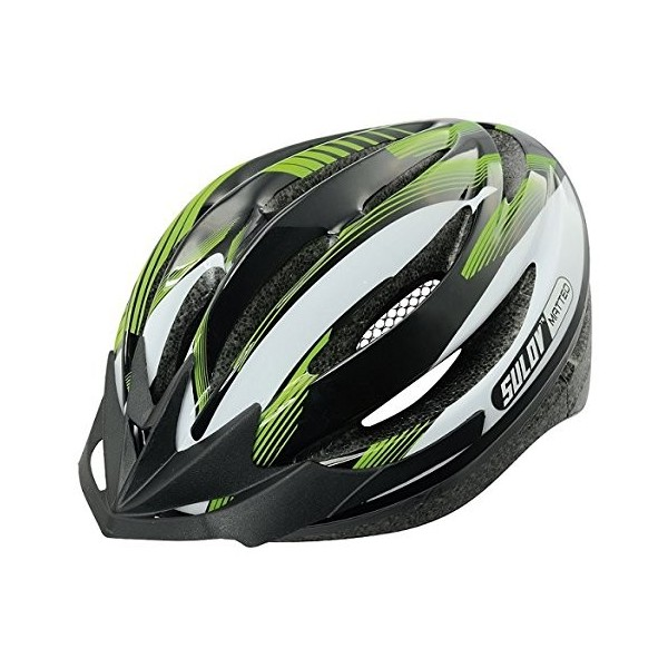 SULOV bicicleta casco Matteo, Verde, L