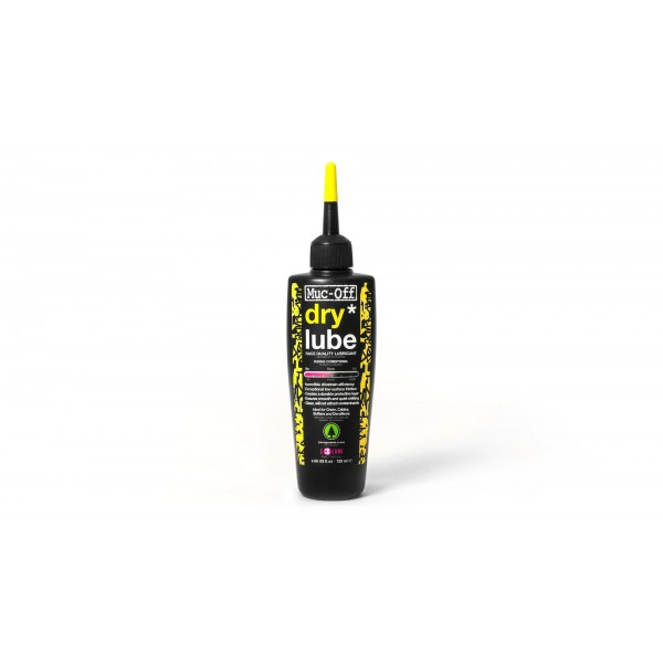 Muc-Off MUC966 - Lubricante de cadena de bicicleta biodegradable, para tiempo seco, 120ml