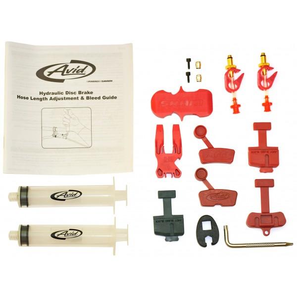 AVID Bleed Kit - Freno de herramienta multifunción para bicicletas, tamaño Normal, color greys