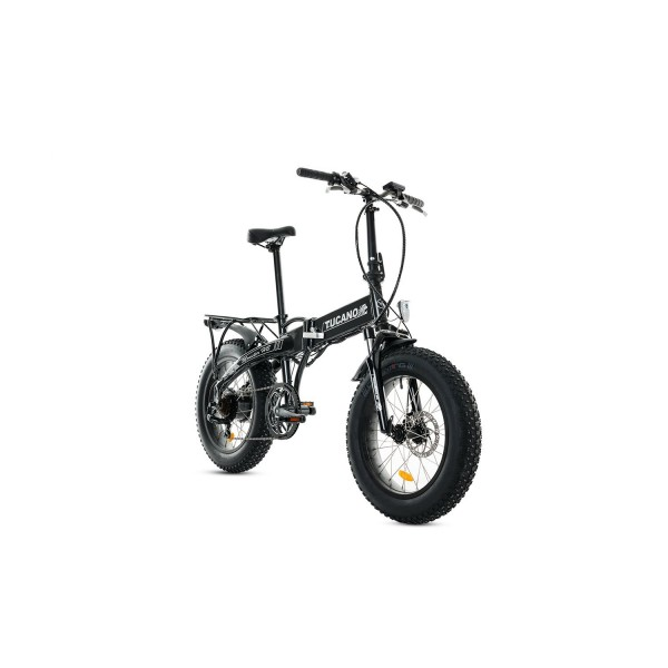 Tucano Bikes Monster HB Bicicleta Eléctrica Plegable, Gris  Antracita , Talla Única
