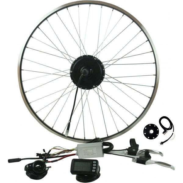 """Prystel 26PT - Kit para bicicleta eléctrica de 26""""  rueda trasera, 36V/250W  color negro"""