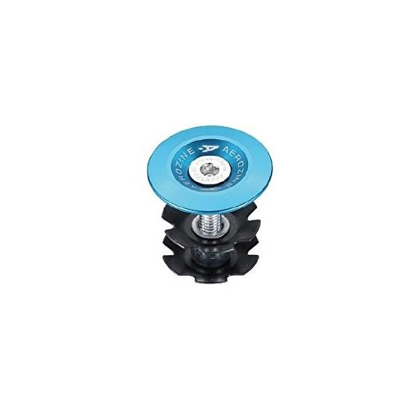 Aerozine Unisex cabeza Set anodizado Auriculares Cap, azul, 1/cm