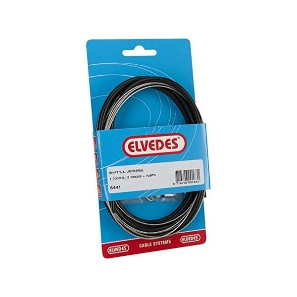Elvedes Kit de cable cambio Sturmey Archer 1650/2100mm–negro