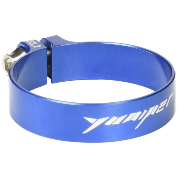 Yuniper Ultralight 6,1 g abrazaderas 38.2 mm Seat Post Clamp Azul Blue