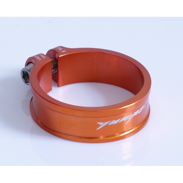 Yuniper Ultralight 9,1 g abrazadera 34,9 mm Seat Post Clamp Naranja.