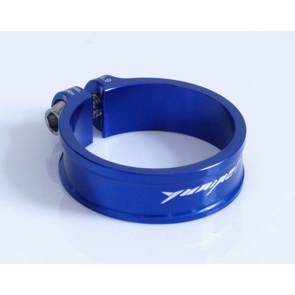 Yuniper Ultralight 9,1 g abrazadera 34,9 mm Seat Post Clamp Azul Blue.