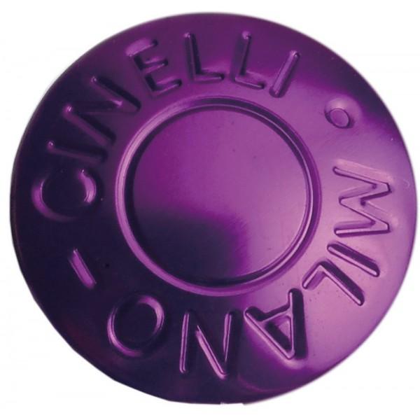 Cinelli Milano–Tapones de manillar, anodizado, color morado