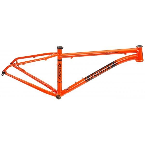 "Ritchey Timberwolf - Cuadro de MTB, color naranja, 15"""