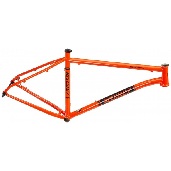 "Ritchey Timberwolf - Cuadro de MTB, color naranja, 17"""
