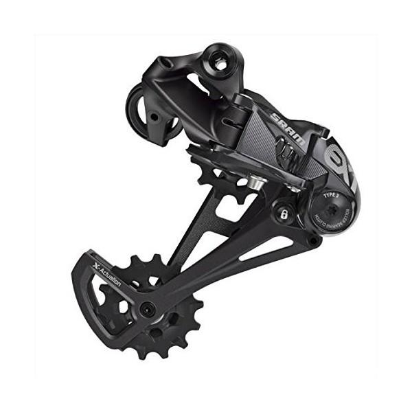 SRAM Uni desviador EX18Compartimento de palanca de cambios, Negro, 20x 10x 10cm